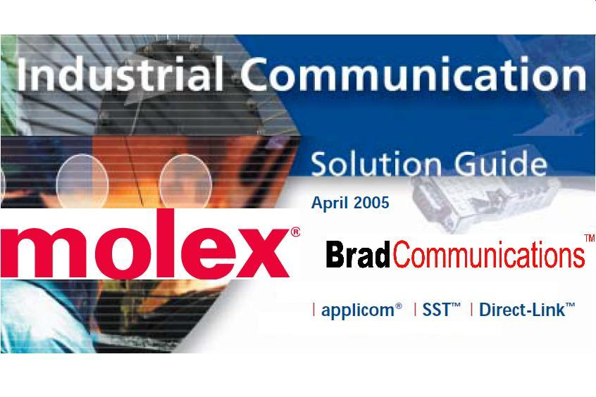 BRAD MOLEX Catalogo Generale Brad Communications 05