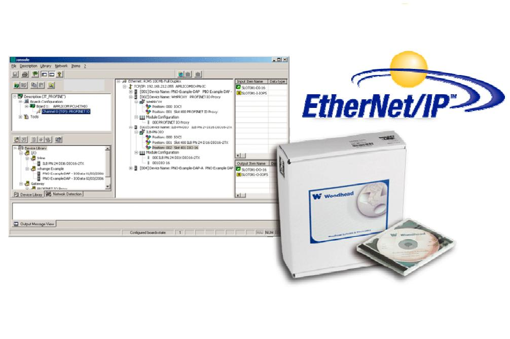 BRAD MOLEX EtherNet/IP Software Tools