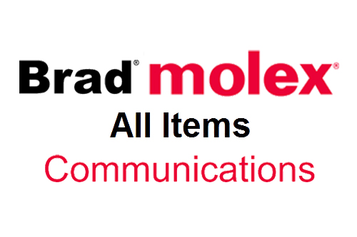 BRAD MOLEX All Items COMMUNICATIONS